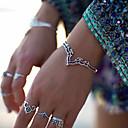 billige Motearmbånd-Dame Mansjettarmbånd Vintage Armbånd - Totem Serier Vintage, Etnisk, Bohem Armbånd Gull / Sølv Til Gave Stevnemøte Gate