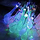 baratos Mangueiras de LED-5m Cordões de Luzes 20 LEDs Multicolorido Decorativa / Adorável 220-240 V 1conjunto