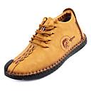 olcso Férfi sportcipők-Férfi Kényelmes cipők PU Ősz Alkalmi Tornacipők Csúszásmentes Fekete / Sárga / Khakizöld