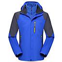 cheap Cycling Jackets-Men's Hiking Jacket Outdoor Winter Windproof Waterproof Thermal / Warm Rain-Proof Fleece Jacket Top Single Slider Camping / Hiking Outdoor Exercise Camping / Hiking / Caving Green / Blue / Dark Navy
