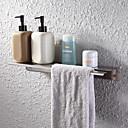 billige Krantilbehør-Hylle til badeværelset Nytt Design Moderne Rustfrit stål / jern 1pc Vægmonteret