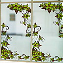 levne Samolepky na zeď-Okenní film a samolepky Dekorace Běžný Květiny PVC Nálepka na okna