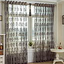 cheap Slipcovers-Modern Sheer Curtains Shades Two Panels Sheer / Bedroom