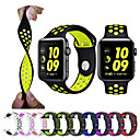 cheap Smartwatch Bands-Watch Band for Apple Watch Series 4/3/2/1 Apple Sport Band Silicone Wrist Strap