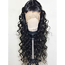 cheap Human Hair Wigs-Remy Human Hair Lace Front Wig style Brazilian Hair Body Wave Wig 130% Density with Baby Hair Natural Hairline Bleached Knots Women's Long Human Hair Lace Wig
