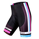 cheap Cycling Pants, Shorts, Tights-WOSAWE Women's Cycling Padded Shorts Bike Shorts / Padded Shorts / Chamois / Bottoms 3D Pad, Quick Dry, Windproof Stripe Polyester,