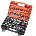 cheap Testers & Detectors-53 sets of auto repair hardware set tools manual tool set sleeve gift set