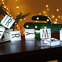 billige LED-kædelys-1,5m streng lys 10 ledninger hvid / varm hvid dekorative aa batterier drevet 1 sæt