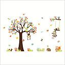 abordables Stickers Muraux-Autocollants muraux décoratifs - Autocollants avion / Autocollants muraux animaux Animaux / A fleurs / Botanique Chambre d'enfants / Chambre des enfants