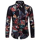 billige Verktøy til bil-Skjorte Herre - Geometrisk Grunnleggende
