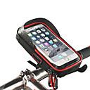 ราคาถูก อุปกรณ์เสริมฐานติดตั้งและตัวยึดโทรศัพท์-Wheel up Mount กันน้ำ Portable สวมใส่ได้ สำหรับ จักรยานใช้บนถนน จักรยานปีนเขา วัสดุกันน้ำ iPhone X iPhone XS iPhone XR จักรยาน สีดำ แดง ฟ้า 1 pcs