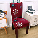 halpa Irtopäälliset-Tuolin päällinen Värikäs Herkkä tulostus Polyesteri slipcovers
