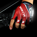 cheap Cycling Pants, Shorts, Tights-Bike Gloves / Cycling Gloves Mountain Bike MTB Sports Fingerless Gloves Reflective Anti-Slip Anti-Shake / Damping Red Green Blue Microfiber Cycling / Bike Unisex