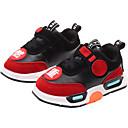 ieftine Pantofi Băieți-Băieți Pantofi Imitație Piele / PU Primăvara & toamnă / Primavara vara Confortabili Adidași de Atletism Alergare / Plimbare Dantelă / Combinată / Bandă Magică pentru Copii Negru / Roz / Bloc Culoare