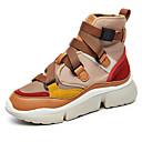 ieftine Adidași de Damă-Pentru femei Pantofi de confort Material elastic / Sintetice Iarnă Adidași Toc Drept Alb / Maro