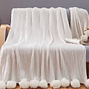 baratos Cobertores e Mantas-Sofá Jogue, Sólido Algodão Confortável cobertores