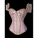 ราคาถูก ชุดชั้นใน-ที่ไม่ใช่ส่วนบุคคล Terylene เสื้อลัดลำตัวสตรี ปมผ้า Party / Evening