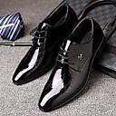 זול נעלי אוקספורד לגברים-בגדי ריקוד גברים נעליים פורמליות דמוי עור אביב קיץ עסקים / יום יומי נעלי אוקספורד שחור / חתונה / מסיבה וערב