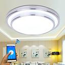 رخيصةأون ساعات الأطفال-أدى الحديثة مصباح السقف أدى التطبيق التحكم في السقف ضوء غرفة المعيشة عائلة الإضاءة ac110-240v المنزل