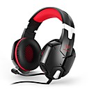 baratos Tapete de Mouse-KOTION EACH G1200 Bandana Cabo Fones Fones PP+ABS Games Fone de ouvido Fone de ouvido