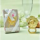 olcso Köszönetajándékok üvegekhez-Nem személyre szabott Fröccsöntött Cinkötvözet Üvegnyitók Esküvő Palack Favor