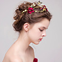 cheap Party Headpieces-Beads / Fabrics Tiaras with Rhinestone 1 Piece Wedding / Party / Evening Headpiece