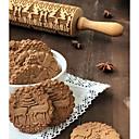 olcso Sütőeszközök-Bakeware eszközök Fa Újonnan érkező / Karácsony Keksz Állat Sodrófa 1db