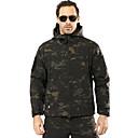 cheap Hunting Bags-Hunting Jacket / Hunting Fleece Jacket Men's Windproof / Rain-Proof Camouflage Softshell Jacket Long Sleeve for
