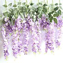 cheap Artificial Flower-Artificial Flowers 1 Branch Wall-Mounted Pastoral Style Plants Wall Flower