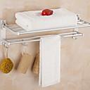 halpa Kylpyhuonetarvikkeet-Kylpyhuonehylly Uusi malli / Tyylikäs Nykyaikainen Alumiini 1kpl Double Seinäasennus