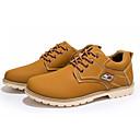 abordables Oxfords para Hombre-Hombre Zapatos Confort PU Otoño Casual Oxfords Antideslizante Negro / Amarillo / Azul