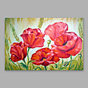 abordables Cuadros de Paisajes-Pintura al óleo pintada a colgar Pintada a mano - Abstracto Modern Lona