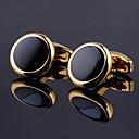 tanie Akcesoria dla mężczyzn-Prostokątna Złota / Różowe złoto Spinki do mankietów Stop Elegancka odzież / Moda Unisex Biżuteria kostiumowa Na Codzienny / Festiwal