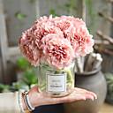 billige Kunstig Blomst-Kunstige blomster 5 Gren Klassisk Moderne / Nutidig Peoner Bordblomst