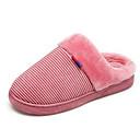 ieftine Flip-Flops de Damă-Pentru femei Pantofi de confort Piele de Căprioară Toamnă Papuci & Flip-flops Toc Drept Gri / Maro