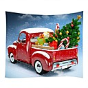 cheap Wall Tapestries-Christmas / Family Wall Decor 100% Polyester Modern Wall Art, Wall Tapestries Decoration