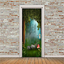 cheap Wall Stickers-Door Stickers - 3D Wall Stickers Animals / 3D Indoor / Outdoor