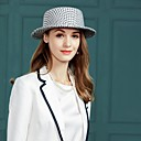 cheap Party Headpieces-Polyester Hats with Plaid 1pc Casual / Daily Wear Headpiece