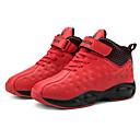 ieftine Pantofi Băieți-Băieți / Fete Pantofi PU Primăvara & toamnă / Primăvară Confortabili Adidași de Atletism Alergare / Plimbare Dantelă pentru Copii / Adolescent Negru / Rosu / Bleumarin
