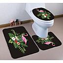 cheap Mats & Rugs-3 Pieces Modern Bath Mats 100g / m2 Polyester Knit Stretch Animal Irregular / Rectangle Bathroom Lovely