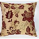 billige Putevar-1 stk Polyester Pute med Innsetthull, Blomstret / Trykt mønster Vintage / Retro Rød