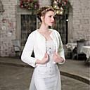 levne Svatební bolerka-Dlouhý rukáv Umělá kožešina Svatební / Večírek Dámské bolerko S Vzor Bolera