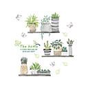 tanie Sztuczny kwiat-Dekoracyjne naklejki ścienne - Naklejki ścienne lotnicze Krajobraz / Kwiatowy / Roślinny Kuchnia / w pomieszczeniach