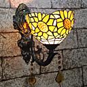 رخيصةأون أضواء العرض-إبداعي / محبوب تيفاني / عتيق / معتق مصابيح الحائط / إضاءة الحمام غرفة النوم / داخلي الراتنج إضاءة الحائط 110-120V / 220-240V 25 W
