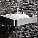 abordables Jaboneras-Jaboneras y Soportes Con Agujeros Moderno Acero Inoxidable / Hierro 1pc - Baño / Baño del hotel Sencilla Colocado en la Pared