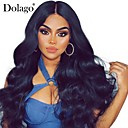 cheap Human Hair Wigs-Dolago 360 Lace Frontal Wig 150% Lace Front Human Hair Wigs Pre Plucked With Baby Hair Brazilian Body Wave Lace Front Wigs