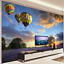 abordables Murales-papel pintado / Mural Lona Revestimiento de pared - adhesiva requerida Art Decó / Patrón / 3D