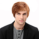 cheap Eyeliner-Human Hair Capless Wigs Human Hair Straight Side Part Short Machine Made Wig Men's