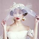 preiswerte Haarschmuck-Flachs / Beads Kopfbedeckung / Kopfschmuck mit Perle / Kappe 1 Stück Hochzeit / Party / Abend Kopfschmuck