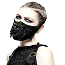 ieftine Accesorii Lolita-Doctor de ciumă Masca Mascarada Mască Jumătate Nit Punk Steampunk Pune masca Barbat Femeie Negru Mată Mască Nit Imitație de Piele din fibre sintetice Costume